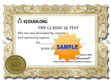 IQ Diploma | IQ Test | IQ Exam
